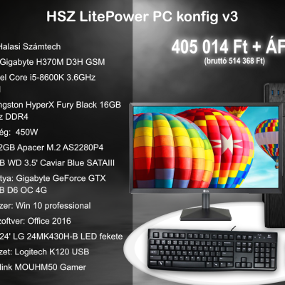 HSZ Litepower PC Konfig V3