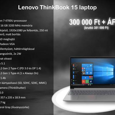 Lenovo Thinkbook 15 20vg0008hv Laptop