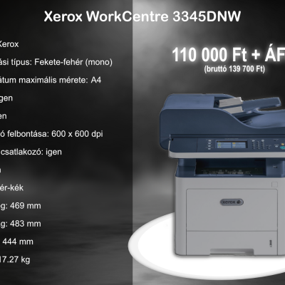 Xerox Work Centre 3345DNW